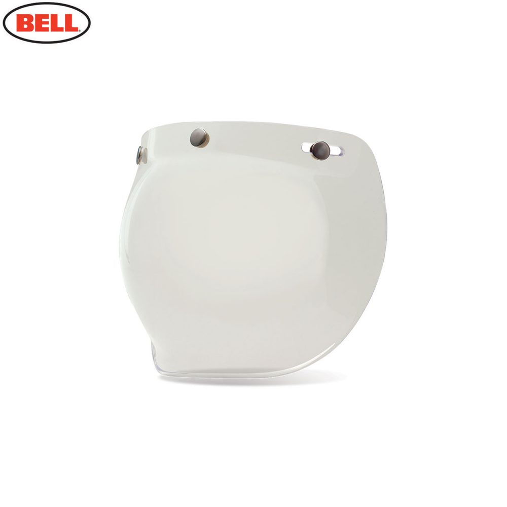 Bell Replacement Custom 500 3-Snap Bubble Shield Clear