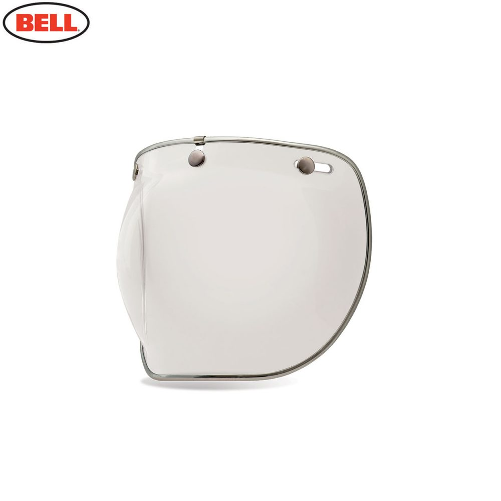 Bell Replacement Custom 500 3-Snap Bubble Deluxe Shield Clear