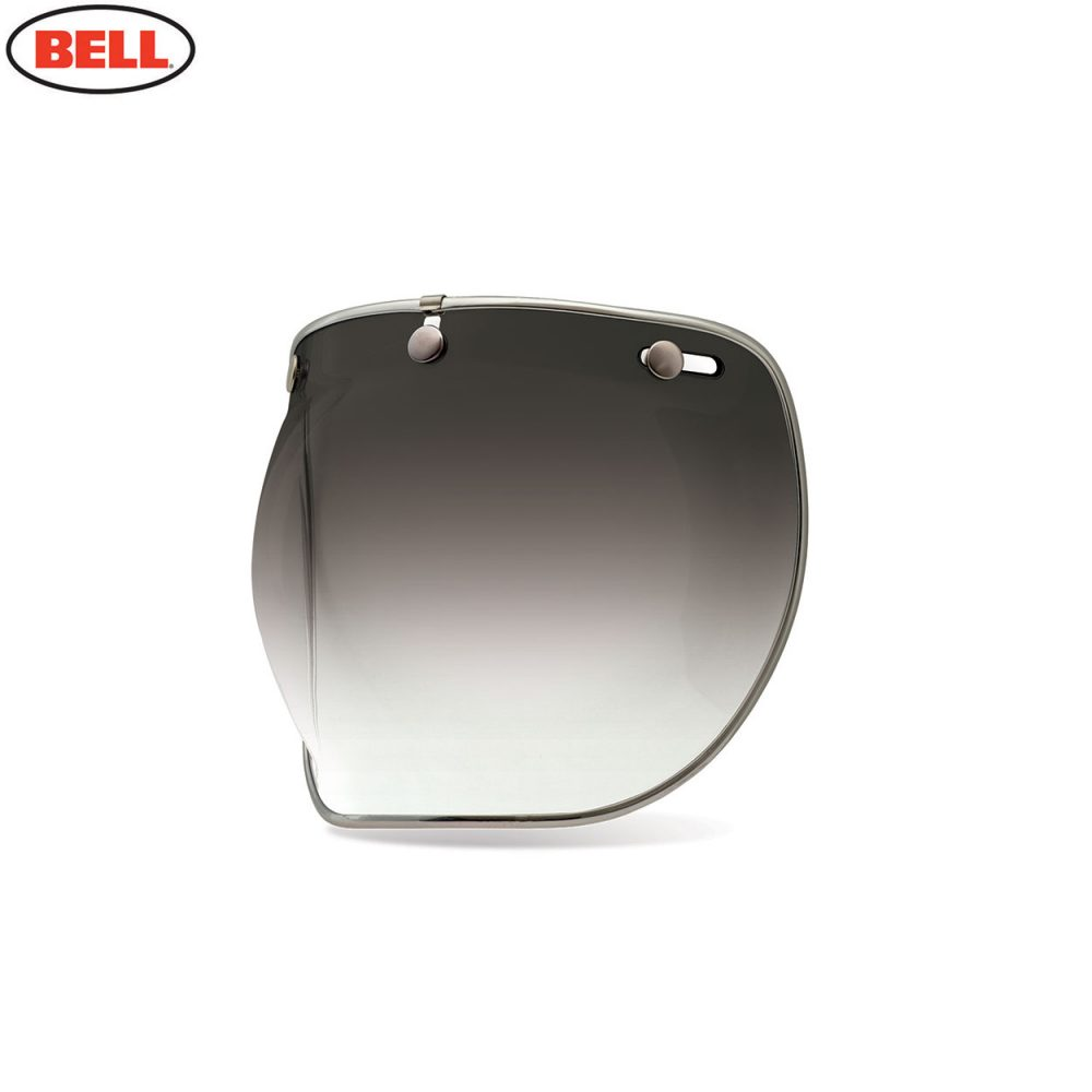 Bell Replacement Custom 500 3-Snap Bubble Deluxe Shield Smoke Gradient