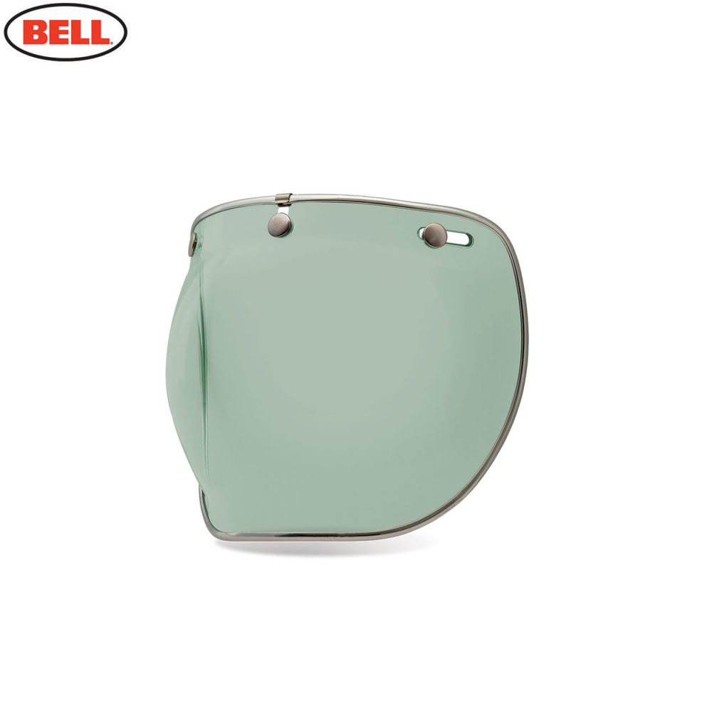 Bell Replacement Custom 500 3-Snap Bubble Deluxe Shield Mint