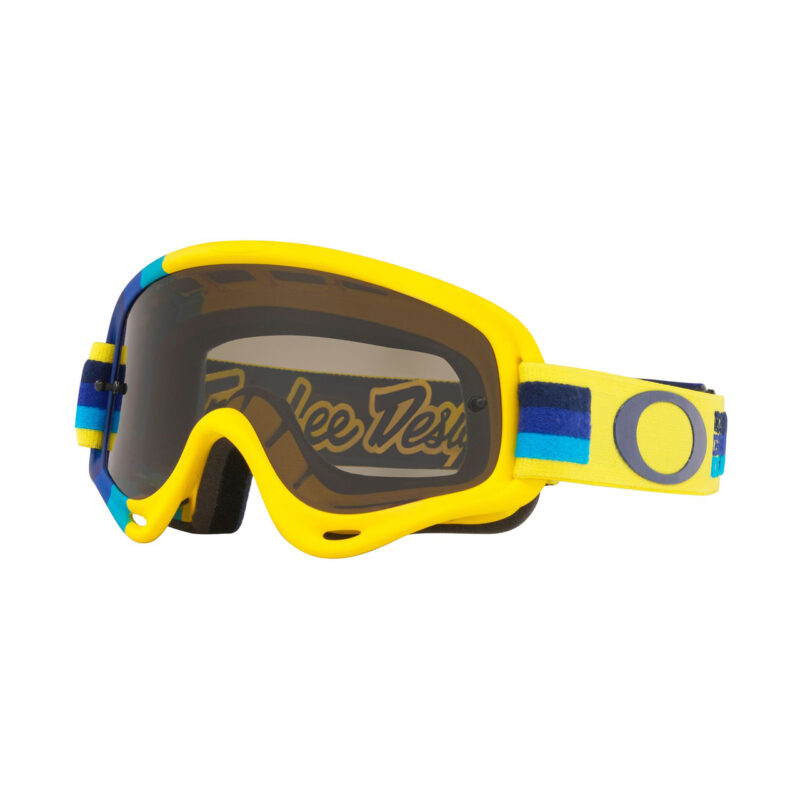 Oakley S O Frame TLD Collection SS19.1 M Goggle (Pre-Mi Yellow Blue) Dark Grey Lens