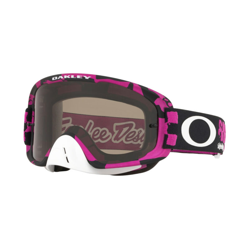 Oakley O Frame .0 TLD Collection SS19.1 M Goggle (Race Shop Pink) Dark Grey & Clear Lens