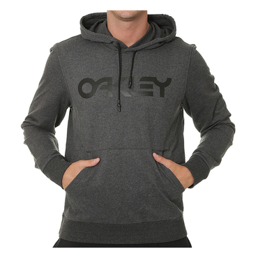 Oakley Casual 018 Adult Lifestyle Hoodie (B1B PO Blackout Heather)