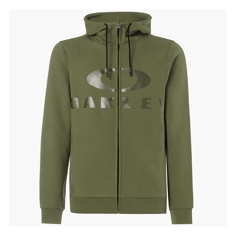 Oakley Casual 018 Adult Lifestyle Hoodie (Bark FZ Dark Brush)
