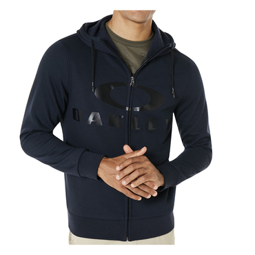 Oakley Casual 018 Adult Lifestyle Hoodie (Bark FZ Fathom)