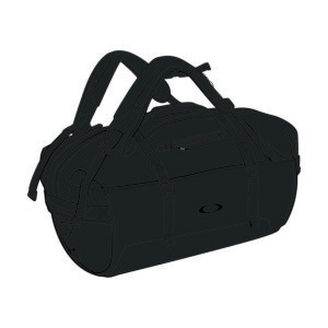 Oakley Luggage SP0 Training Outdoor Duffle Bag (Blackout)
